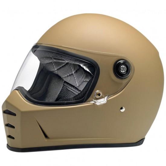 BILTWELL Lane Splitter Flat Coyote Tan Helmet