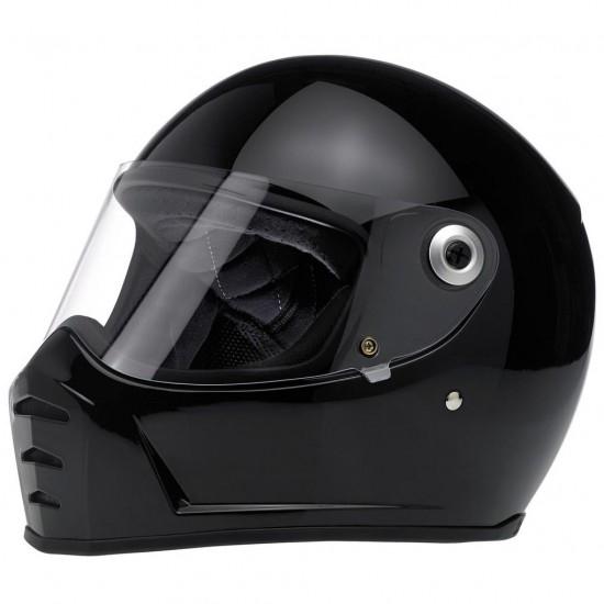 BILTWELL Lane Splitter Gloss Black Helmet