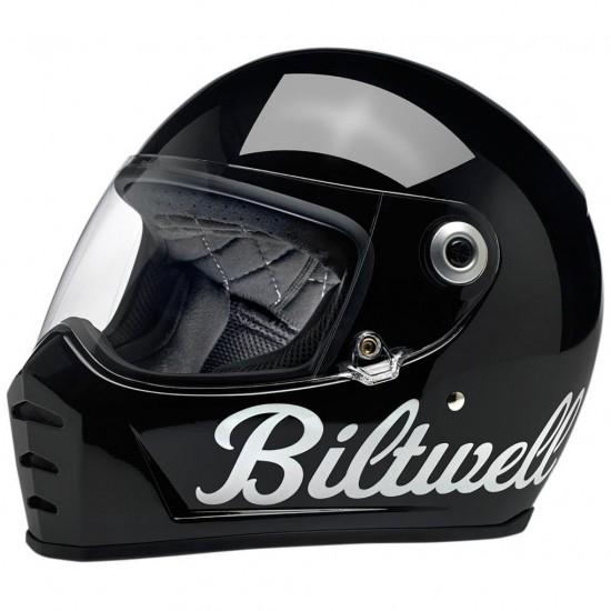 Helm BILTWELL Lane Splitter Gloss Black Factory
