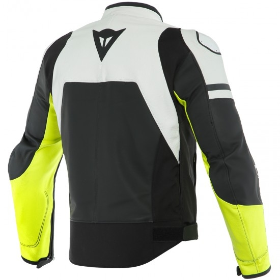 Jacke DAINESE Agile Black-Matt / White / Fluo-Yellow