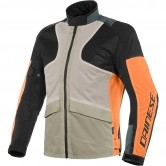 DAINESE Air Tourer Tex Frost-Grey / Flame Orange / Black