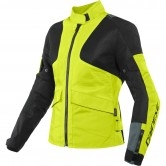 DAINESE Air Tourer Tex Lady Fluo-Yellow / Ebony / Black