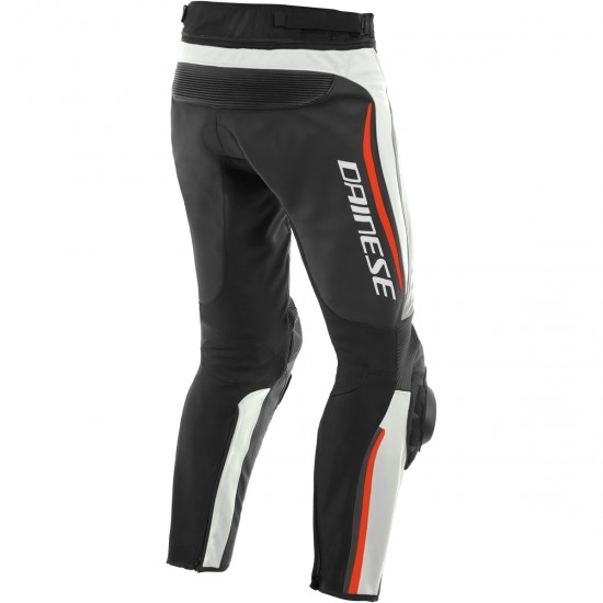 Pantalon DAINESE Alpha Estiva White / Black / Fluo-Red