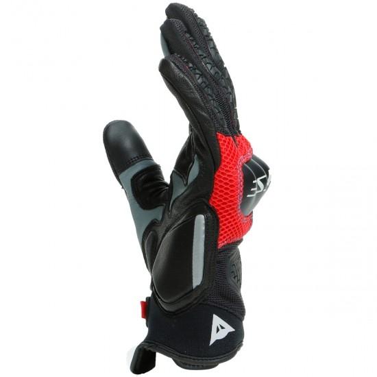 Handschuh DAINESE D-Explorer 2 Glacier-Gray / Blue / Lava-Red / Black