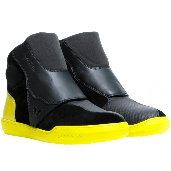 Bottes DAINESE Dover Gore-Tex Black / Fluo-Yellow