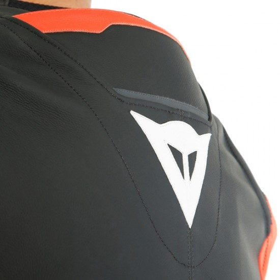 Traje / Mono DAINESE Mistel Black-Matt / Fluo-Red / Black-Matt
