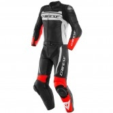 DAINESE Mistel Black-Matt / White / Lava-Red