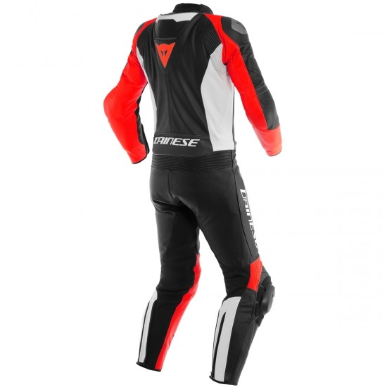 Traje / Mono DAINESE Mistel Black-Matt / White / Lava-Red