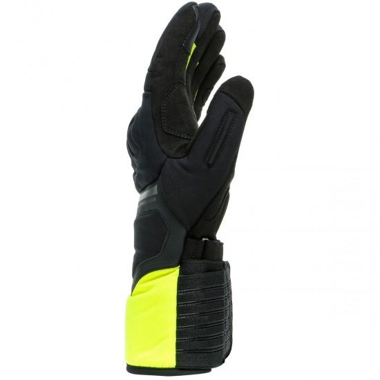 Guantes DAINESE Nembo Gore-Tex Gore Grip Black / Fluo-Yellow
