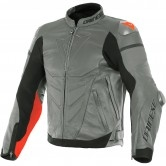 DAINESE Super Race Charcoal-Grey / Charcoal-Grey / Fluo-Red