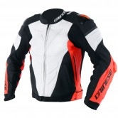 DAINESE Super Race White / Fluo-Red / Black-Matt