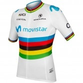 ENDURA Movistar Team World Champs S/S Limited Edition White