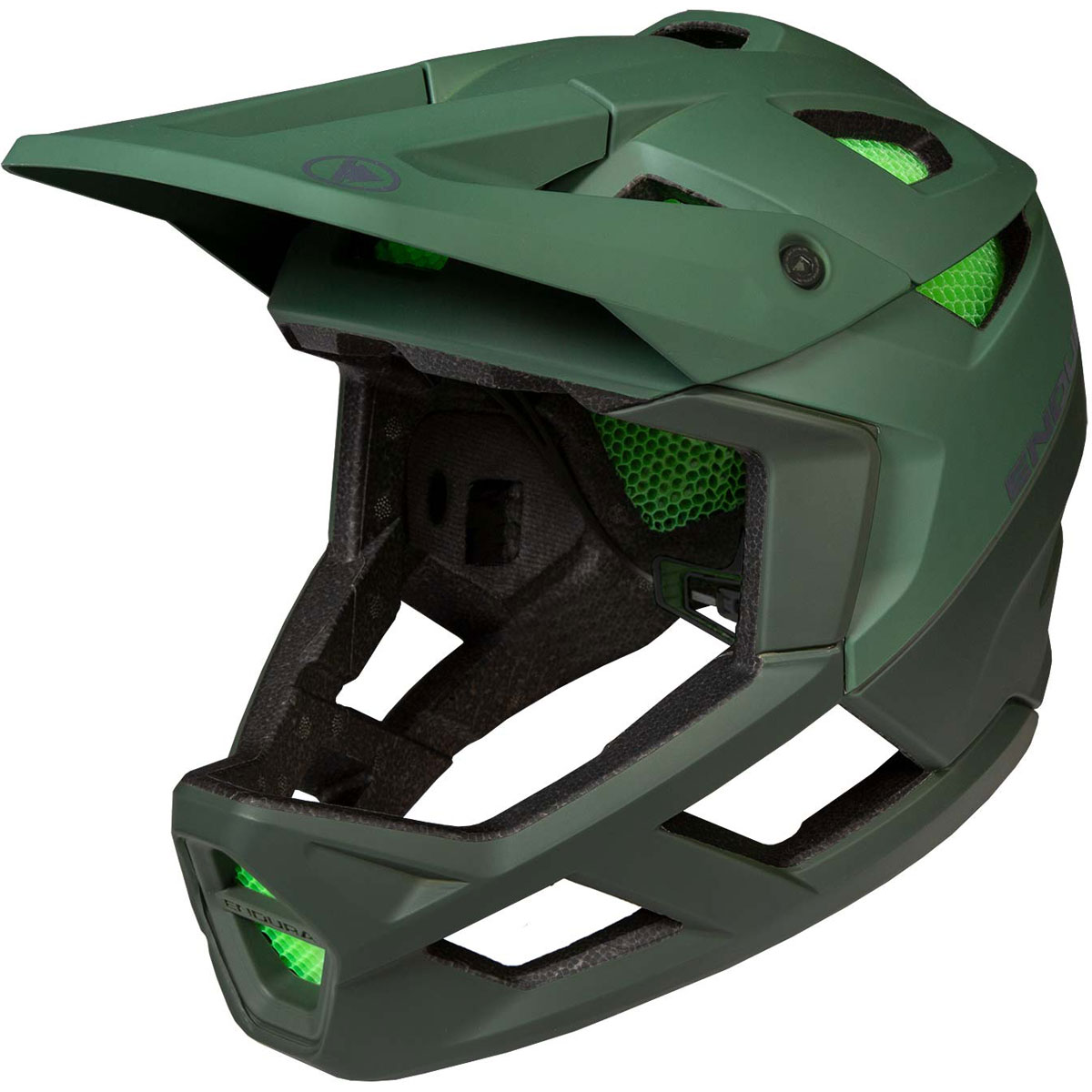 null ENDURA MT500 Full Face Forest Green