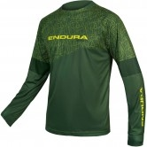 ENDURA MT500 L/S Print T Limited Edition Forest Green