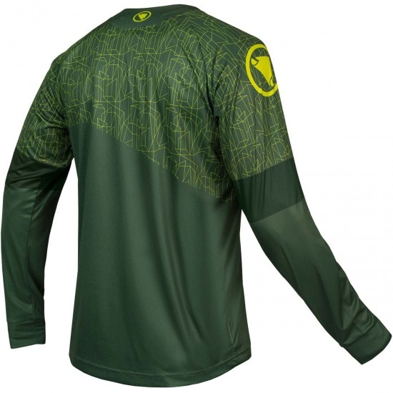 MT500 L/S Print T Limited Edition Forest Green