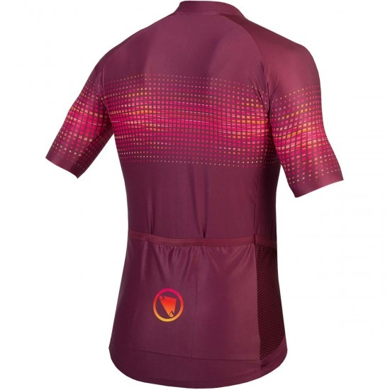 Maillot ENDURA PT Wave S/S Limited Edition Mulberry