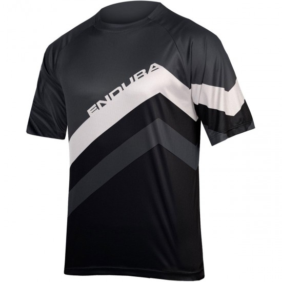 Camisola ENDURA SingleTrack Core Print Black