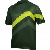 ENDURA SingleTrack Core Print Forest Green