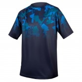 ENDURA SingleTrack Print T Limited Edition Navy