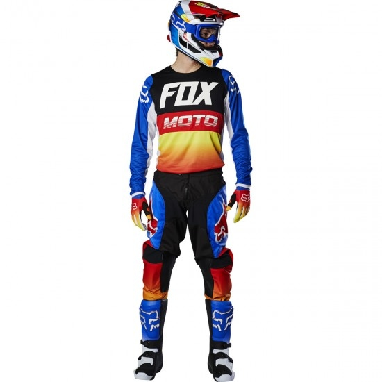 Maillot off road FOX 180 2020 Fyce Blue / Red