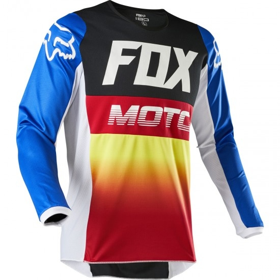 Jersey FOX 180 2020 Junior Fyce Blue / Red