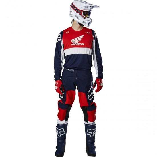 Maillot off road FOX 180 2020 Honda Navy / Red