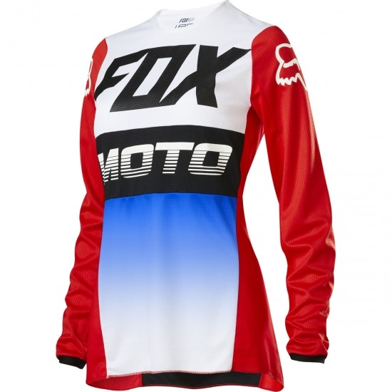 FOX 180 2020 Lady Fyce Blue / Red Jersey