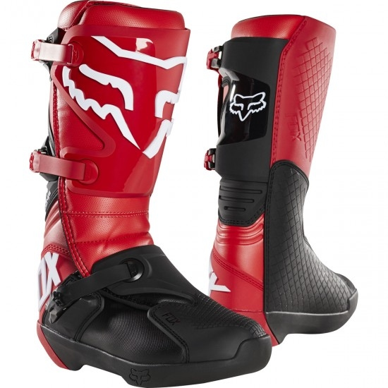 FOX Comp Flame Red Boots