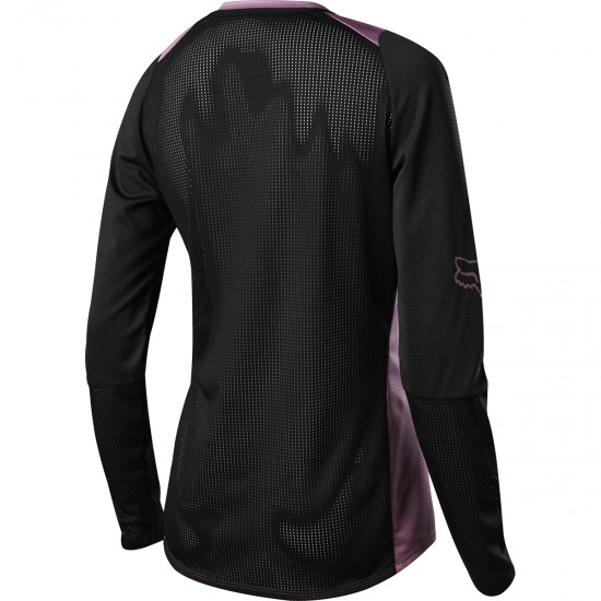 FOX Defend LS Lady 2019 Purple HZ Jersey