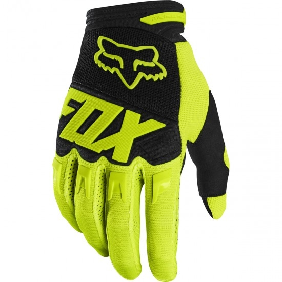 Guantes FOX Dirtpaw 2020 Race Fluorescent Yellow