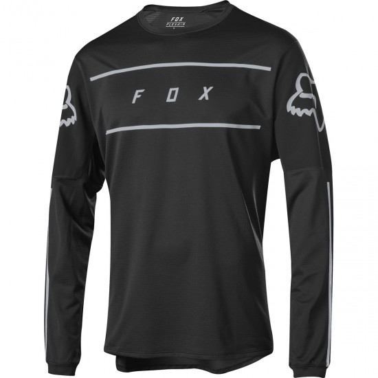 FOX Flexair LS Fine Line Black Jersey