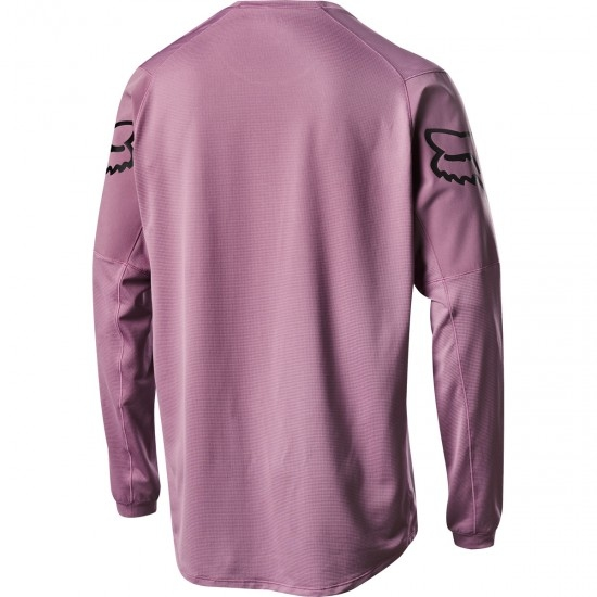 FOX Flexair LS Fine Line Purple HZ Jersey