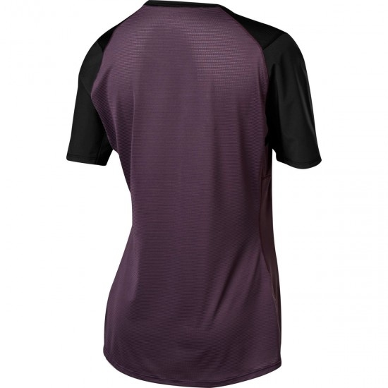 FOX Flexair SS Lady Dark Purple Jersey