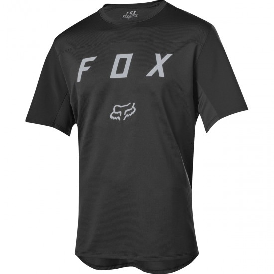 FOX Flexair SS Moth Black Jersey