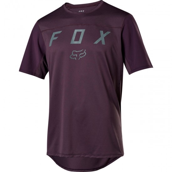 FOX Flexair SS Moth Dark Purple Jersey