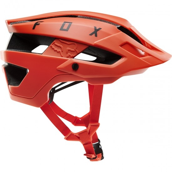 Casque FOX Flux Solid Orange Crsh