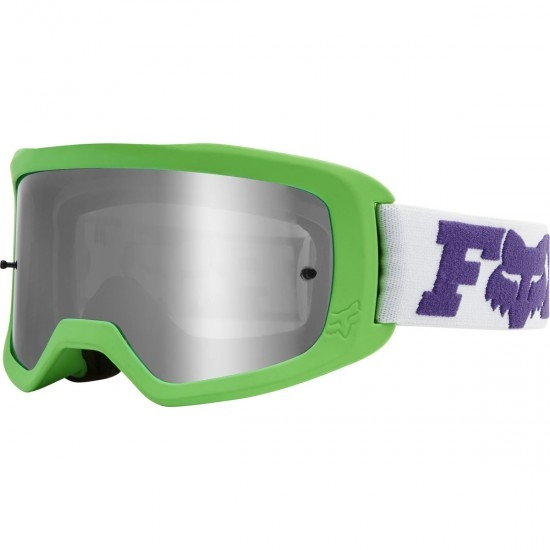 FOX Main II Junior Linc Multi / Chrome Mirror Goggles
