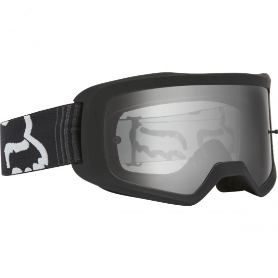FOX Main II Junior Race Black / Clear Goggles