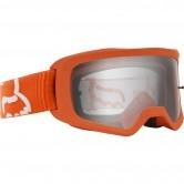 FOX Main II Junior Race Fluorescent Orange / Clear