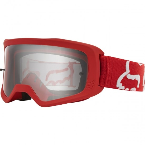 Lunettes FOX Main II Race Red / Clear