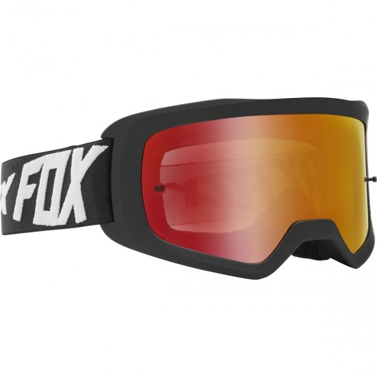 Lunettes FOX Main II Wynt Black / Red Mirror