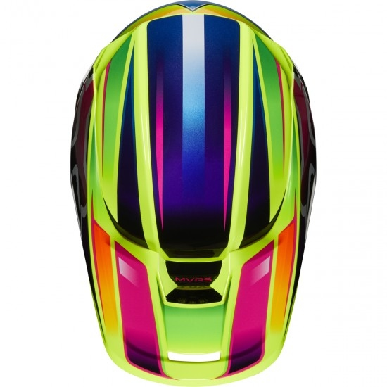 FOX V1 Gama 2020 Yellow Helmet