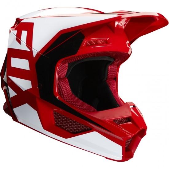 Casco FOX V1 Prix 2020 Flame Red