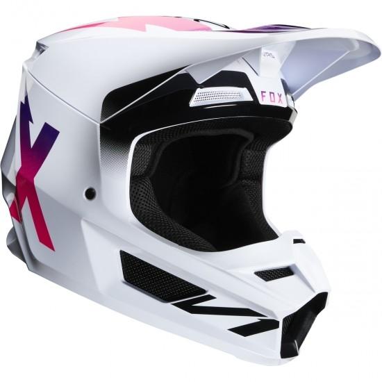 Casco FOX V1 Werd 2020 White