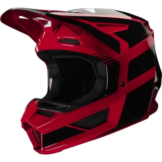 Casco FOX V2 Hayl 2020 Flame Red