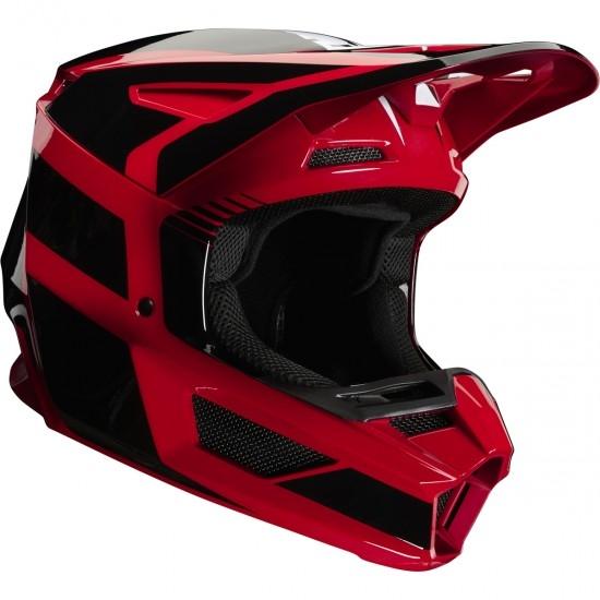 Casco FOX V2 Hayl 2020 Junior Flame Red