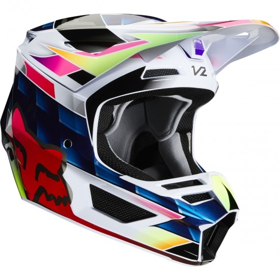 Casque FOX V2 Kresa 2020 Multi