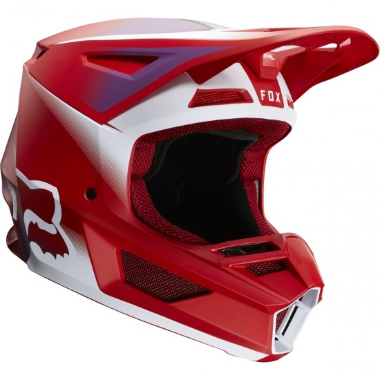 Casco FOX V2 Vlar 2020 Flame Red