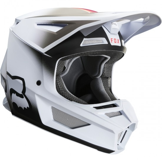 Casco FOX V2 Vlar 2020 Junior White