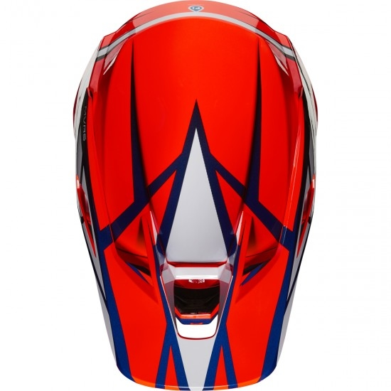 Helm FOX V3 Idol 2020 Orange / Blue